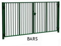 Ворота распашные FENSYS серии PROM BARS