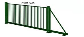 Ворота откатные FENSYS серии PROM BARS