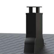 PIIPPU MODULAR проходной элемент для вывода на битумную кровлю квадратных дымовых труб размерами 320x320…370x370 мм