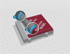 Энергосберегающая антиконденсатная диффузионная мембрана Delta-Maxx WD с двумя зонами проклейки