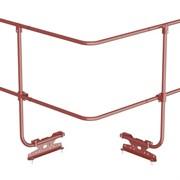 Угол соединения для трубы ограждения 300х300 мм