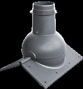 Коньковый вентиль KROVENT Pipe-Cone с изменяемым углом наклона