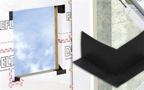 DELTA-FAS CORNER фасонный уголок для герметизации углов оконных проёмов