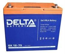 DELTA GX 12-75 (12В 75Ач)