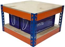 Стеллаж на 2 аккумулятора 200-230 А*час