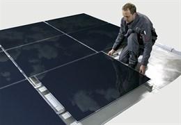 Комплект для монтажа микроморфных солнечных батарей