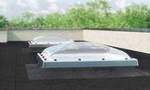 Окна для плоских крыш FAKRO D_С с куполом