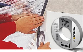 DELTA-KOM-BAND K 15 самоклеющаяся саморасширящаяся лента из пенополиуретана