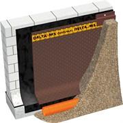 DELTA-MS Профилированная мембрана для защиты гидроизоляции