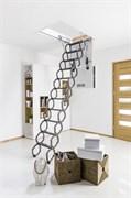 Металлическая термоизоляционная чердачная лестница FAKRO LST