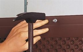 DELTA-NOPPENBAHNEN-PROFIL Защитная планка для профилированных и дренажных мембран