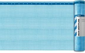 DELTA®-GERÜSTPLANE Армированная высокопрочная плёнка из полиэтилена с бандажными лентами