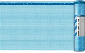 Delta Gerustplane Schwer Entflammbar Трудновоспламеняемая армированная плёнка из полиэтилена с бандажными лентами