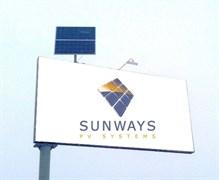 SUNWAYS Билборд - освещение рекламных щитов