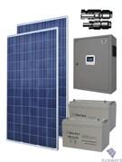 Санфорс 640 Автономная солнечная энергосистема для энергоснабжениянебольшого загородного дома