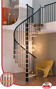 MINKA Spiral Effect Винтовая лестница ступени Чёрный