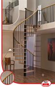 MINKA Spiral Wood Винтовая лестница Чёрный