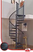 Винтовая лестницаMINKA Rondo Color из оцинкованной стали с порошковым покрытием.