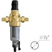 BWT Protector mini C/R HWS Фильтр для холодной воды с прямой промывкой и редуктором давления