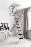 Алюминиевая Чердачная лестница с электроприводом Aci Aluminium Motorized Ladders