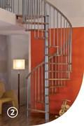 SPIRAL COLOR Винтовая лестница правая