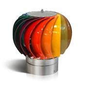 Турбодефлектор оцинкованная сталь с полимерным покрытием. Радужный окрас