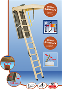 MINKA POLAR TOP Термоизоляционная чердачная лестница