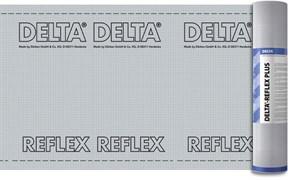 DELTA-REFLEX пароизоляционная плёнка с теплоотражающим покрытием