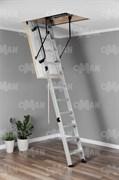 Алюминиевая чердачная лестница OMAN ALU PROFI POLAR
