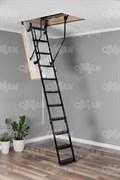 Металлическая трехсекционная чердачная лестницаOMAN Metal T3 EXTRA