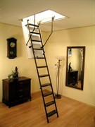 Металлическая чердачная лестница OMAN Metal-280