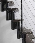 Малогабаритная модульная интерьерная лестница Arke Kya
