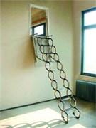 """Металлическая чердачная лестница """"Ножничная Verticale"""""""