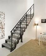 Маршевая интерьерная модульная лестница DOMINO BRIGHT