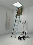 Складная металлическая чердачная лестница ACI 4 (Италия) четырехсекционная